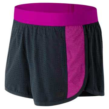 New Balance Mixed Media Training Short, Azalea