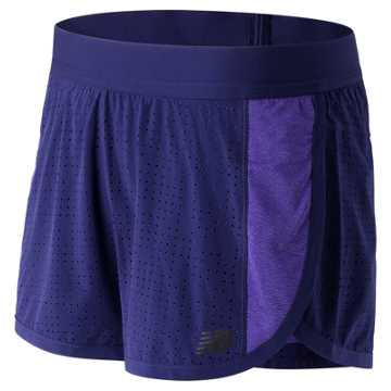 New Balance Mixed Media Training Short, Basin with Titan