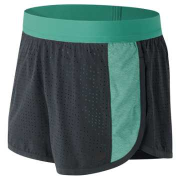 New Balance Mixed Media Training Short, Reef with Thunder