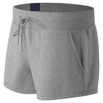 New Balance Essentials Plus Short, Athletic Grey
