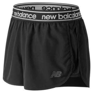 Accelerate 2.5 Inch Short, Black
