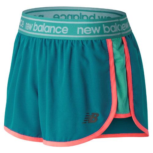 New Balance Accelerate 2.5 Inch Short Girl's Performance - WS81134LKB