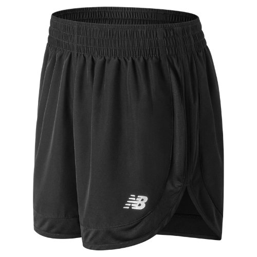 New Balance Accelerate 5 Inch Short Girl's Performance - WS81294BK