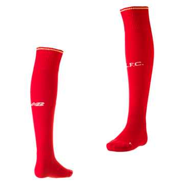 New Balance LFC Mens Home Sock, High Risk Red