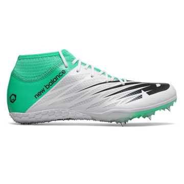 Women's SD100v2 Spike, White with Emerald