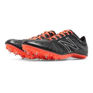 New Balance SD200v1 Spike, Black with Dragonfly