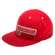 LFC Kop Cap, High Risk Red with White & Amber Yellow