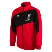 LFC Men's Training Walk Out Jacket, High Risk Red with White