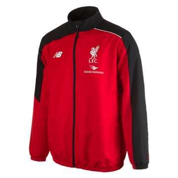 New Balance LFC Mens Training Presentation Jacket, High Risk Red