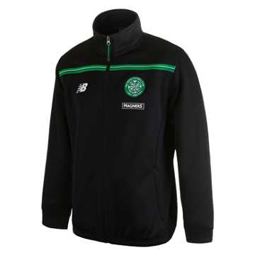 New Balance Celtic Mens Walk Out Jacket, Black
