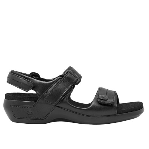 Aravon 03 Womens Sandals Shoes (WSK03BK)
