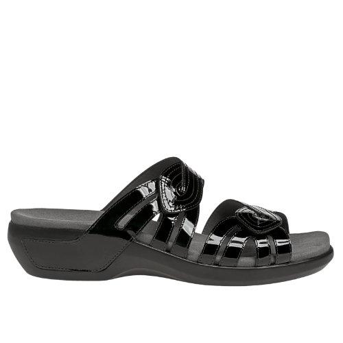 Aravon Kendall Women's Casuals Shoes - Black Patent (WSK10BKP)