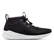 Women's Cypher Run, Black with White
