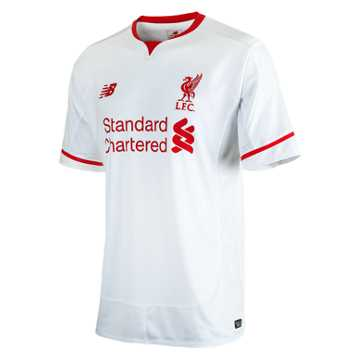 New Balance LFC Jr Away SS Jersey, White