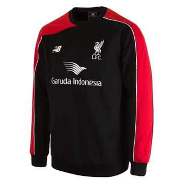 New Balance LFC Jr Training Sweat Top, Black