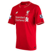 NB LFC Mens Henderson Home EPL Patch SS Jersey, High Risk Red