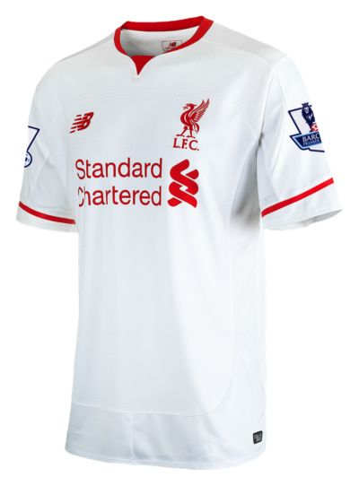 New Balance 54610 Men's LFC Mens Coutinho Away EPL Patch SS Jersey | WSTM54610Y