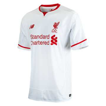 New Balance LFC Mens Sterling Away No Patch SS Jersey, White