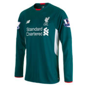 LFC Men's Mignolet Away EPL Patch LS Jersey, Thuja Green