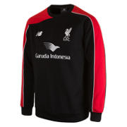LFC Men's Training Sweat Top, Black