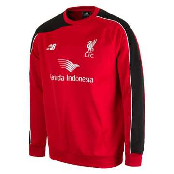 New Balance LFC Mens Training Sweat Top, High Risk Red