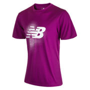 Take Down Training SS Jersey, Deep Orchid with White