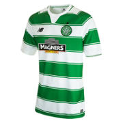 Celtic Men's Home SS Jersey, Celtic Green with White