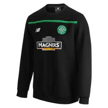 New Balance Celtic Mens Training Sweat Top, Black