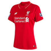 LFC Women's Henderson Home EPL Patch SS Jersey, High Risk Red