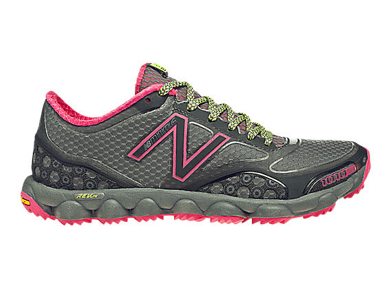 Minimus 1010 Trail, Grey with Dark Grey & Diva Pink