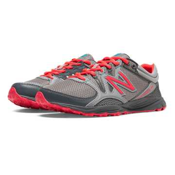 New Balance New Balance 101, Steel Grey with Lead & Bright Cherry
