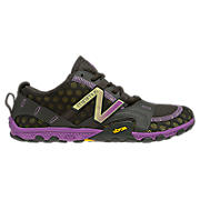 Minimus 10V2 Trail, Black with Purple & Yellow