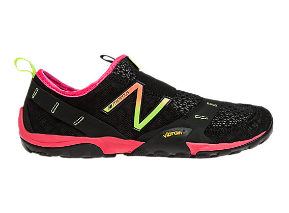 Minimus 10 Trail, Black with Pink