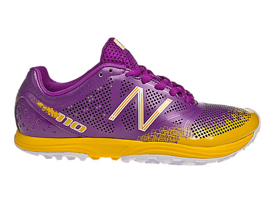 New Balance 110, Purple with Yellow