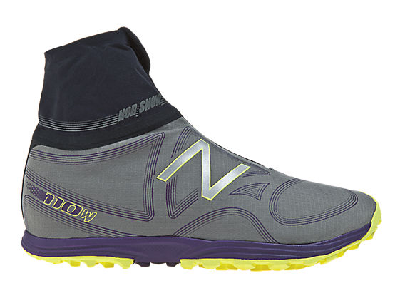 New Balance 110 Boot, Grey with Purple