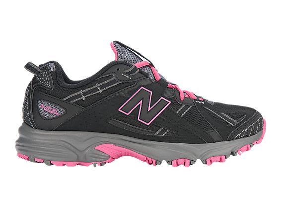 New Balance 411, Black with Pink