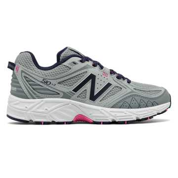 New Balance New Balance 510v3 Trail, Silver Mink with Gunmetal & Dark Denim