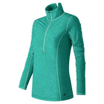 New Balance Impact Half Zip, Aquarius Heather