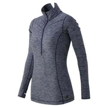 New Balance Impact Half Zip, Aviator Heather