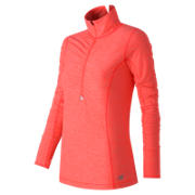 Impact Half Zip, Dragonfly Heather