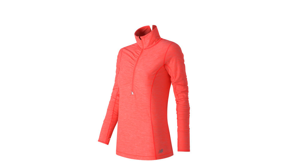 New Balance Impact Half Zip, Dragonfly Heather