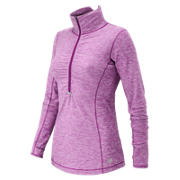 HOCR Impact Half Zip, Deep Orchid Heather
