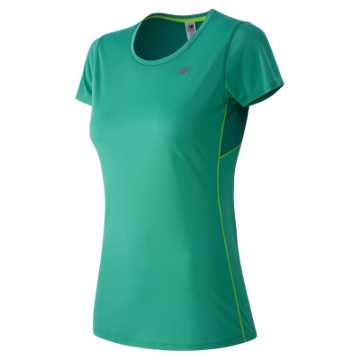 New Balance Accelerate Short Sleeve, Reef