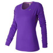 NB Accelerate Long Sleeve, Alpha Violet