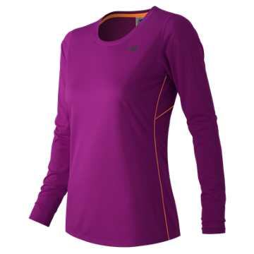 New Balance Accelerate Long Sleeve, Azalea