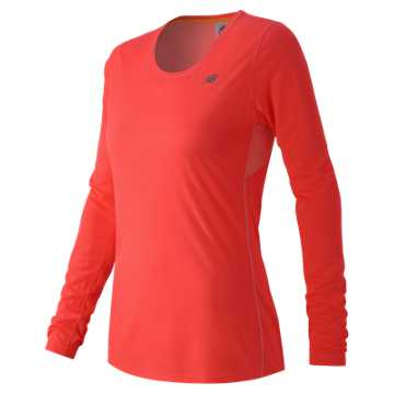 New Balance Accelerate Long Sleeve, Dragonfly