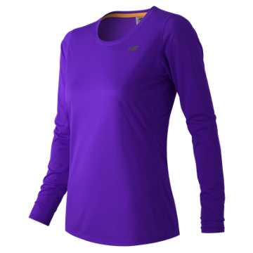 New Balance Accelerate Long Sleeve, Titan