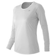 Accelerate Long Sleeve, White