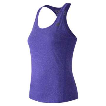 New Balance Heathered Tank, Titan Heather