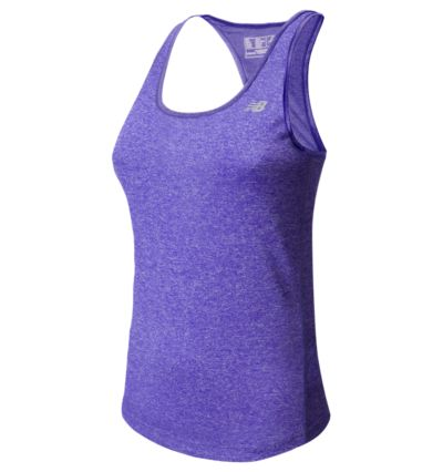 New Balance 53179 Women's Heathered Tank | WT53179SSH